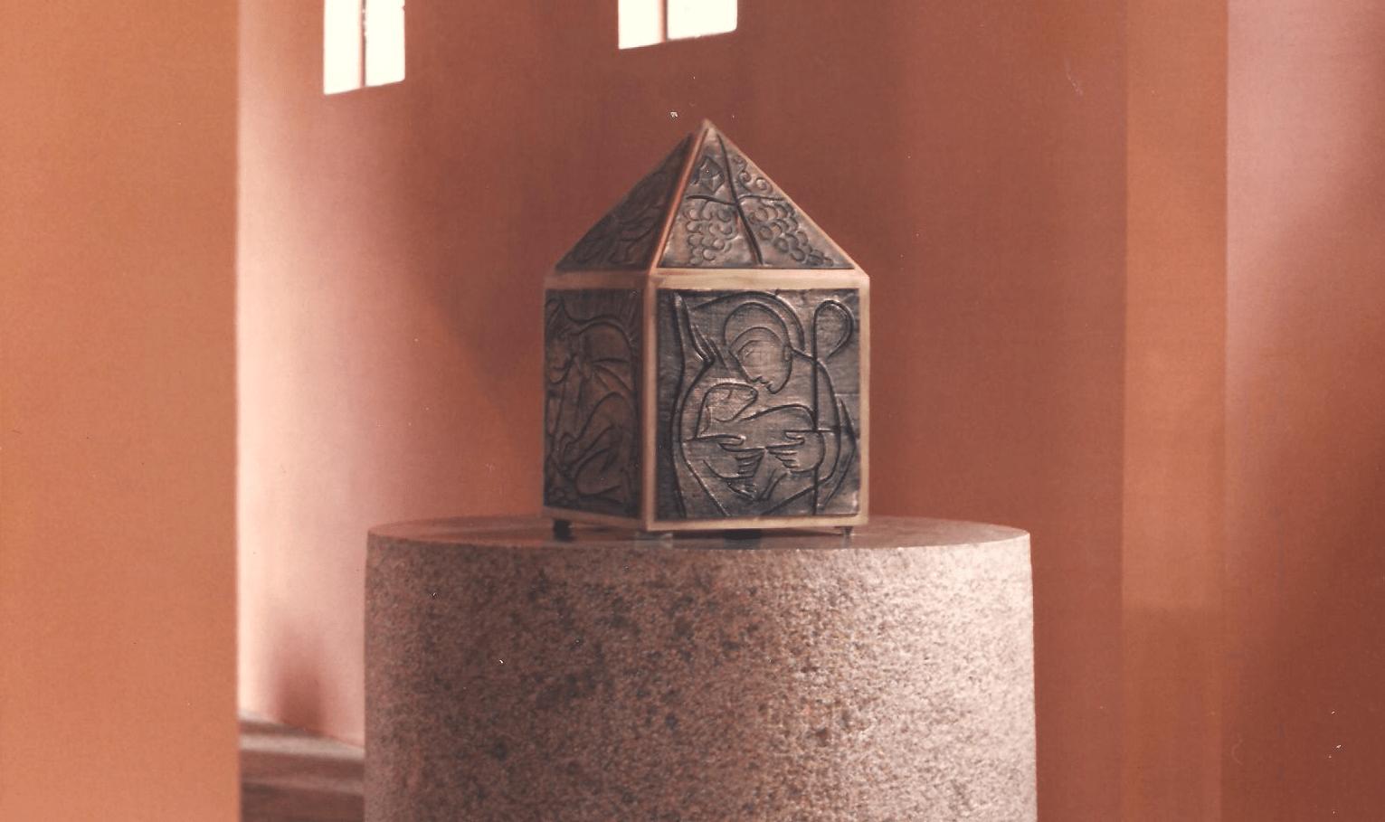 Capela do Santíssimo na Igreja Abacial do Mosteiro da Virgem