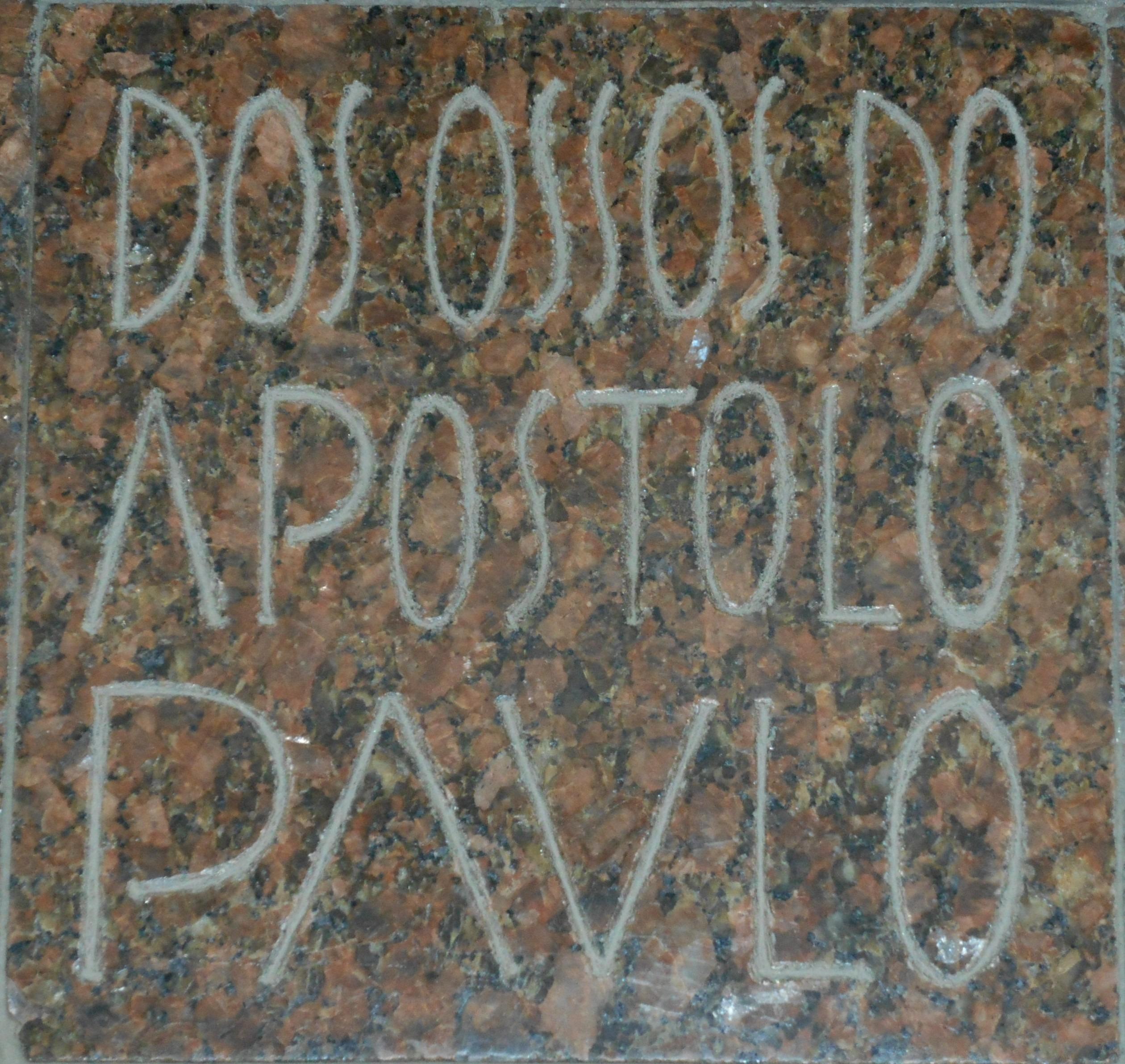 Relíquia de São Paulo Apóstolo na Igreja do Mosteiro da Virgem