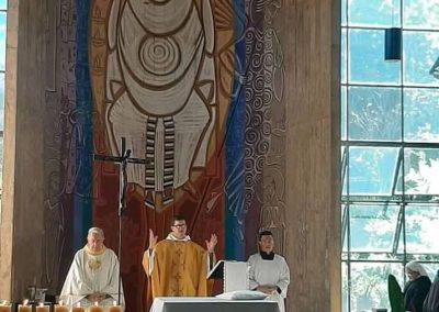 Missa no Mosteiro da Virgem