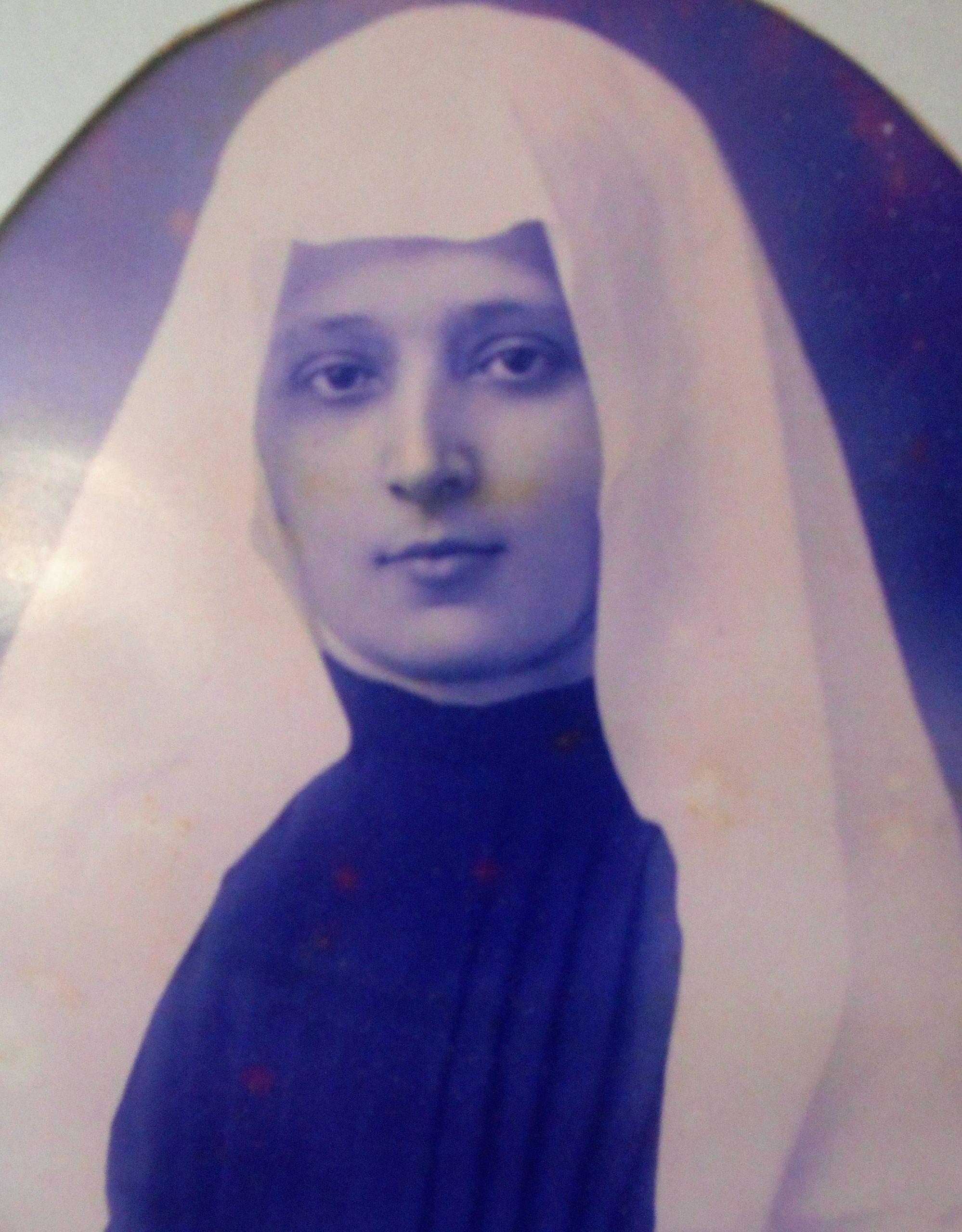 Madre Francisca de Jesus - Fundadora da Companhia da Virgem (foto do Mosteiro da Virgem)