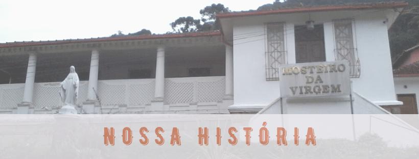 história do Mosteiro da Virgem; fachada do Mosteiro da Virgem.