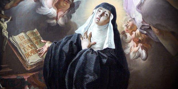 Santa Escolástica - Mosteiro da Virgem