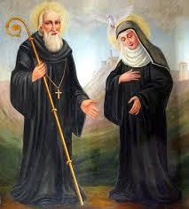 São Bento e Santa Escolástica