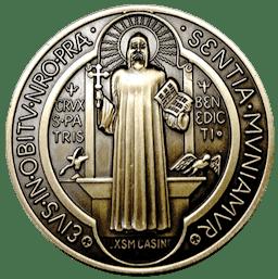 medalha São Bento verso